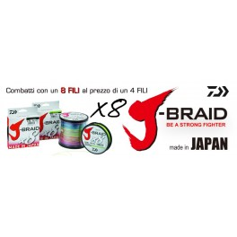 DAIWA J-BRAID 8